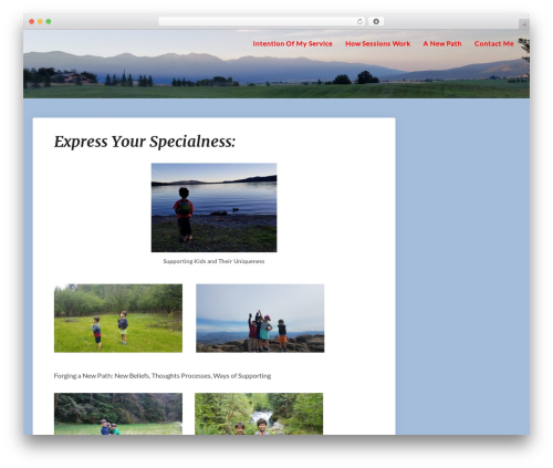 SEOlib WordPress theme - expressyourspecialness.com