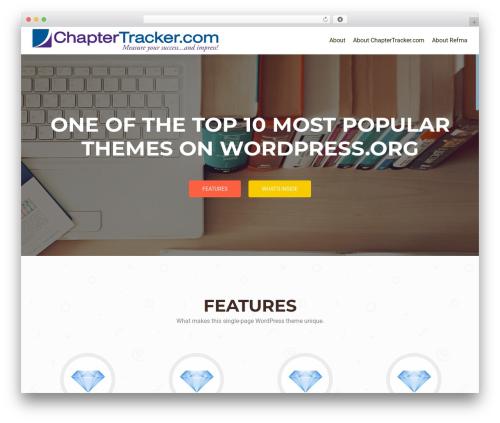 WordPress theme OnePirate - dmr3.com