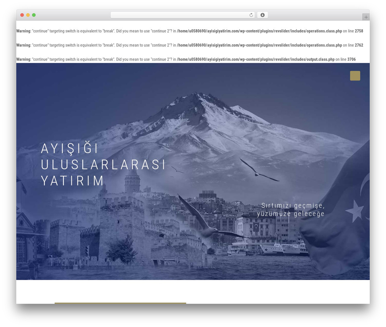 Betheme best WordPress theme - ayisigiyatirim.com