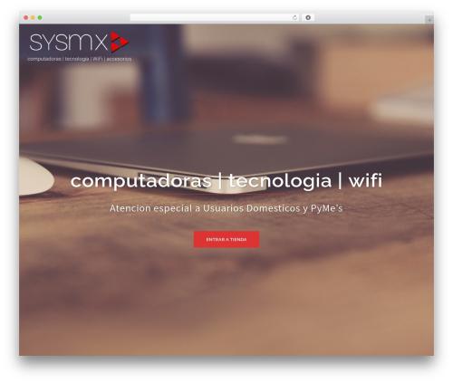 Sydney free WP theme - sysmx-shop.com