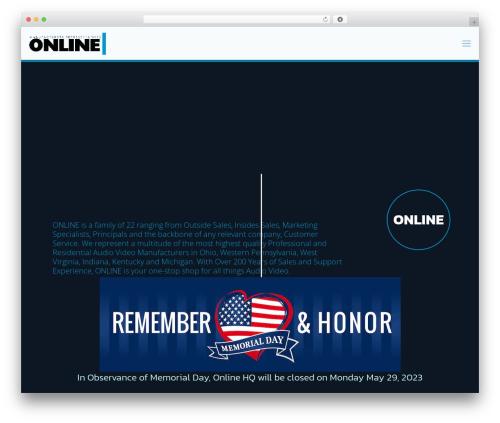 Template WordPress Betheme - onlinerep.com