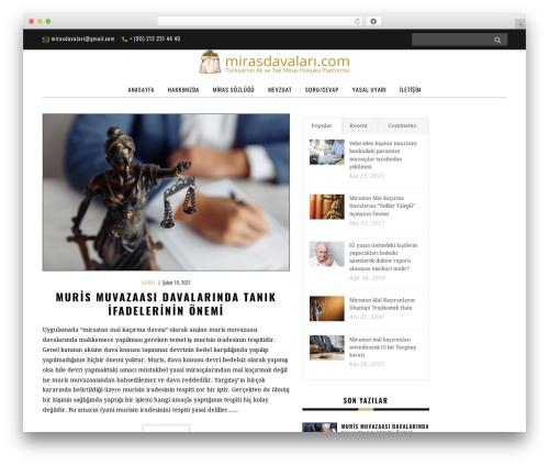 WordPress theme Yorkpress - mirasdavalari.com