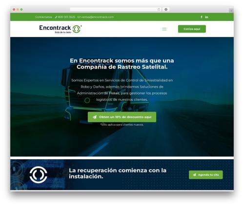 WordPress website template Betheme - encontrack.com