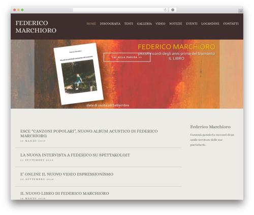 Best WordPress theme Berliner - federicomarchioro.com