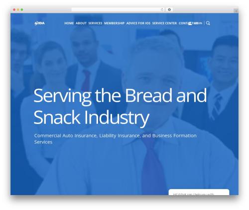 ida WordPress theme - nationalida.com