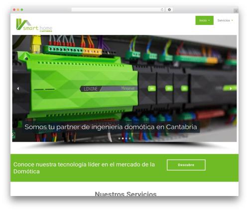 Rambo theme WordPress free - smarthomecantabria.com