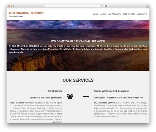 AccessPress Parallax WordPress theme download - mlcfinancialservices.com