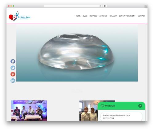 AccessPress Parallax WP theme - breastsurgeon-pune.com