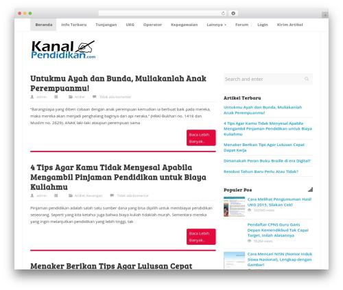 Best WordPress theme ktz freak - kanalpendidikan.com