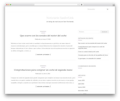 Template WordPress Activello - sanferlink.com
