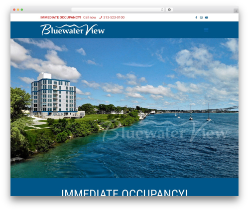 Betheme WordPress theme - bluewaterviewcondos.com