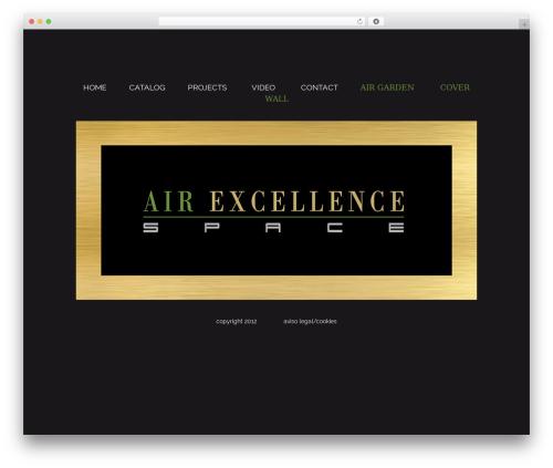 Bridge theme WordPress - air-excellence.com