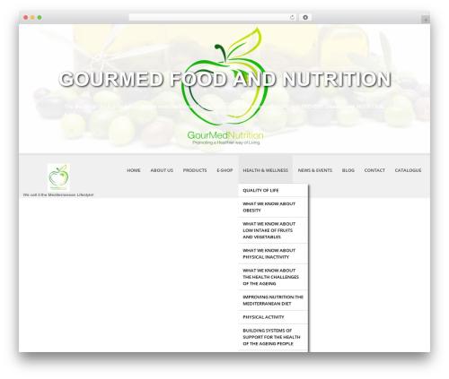 Template WordPress SKT White Child - gourmednutrition.com