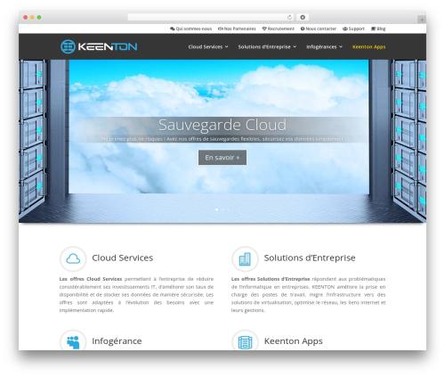 Theme WordPress Divi - keenton.com