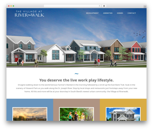 X WordPress page template - riverwalksouthbend.com