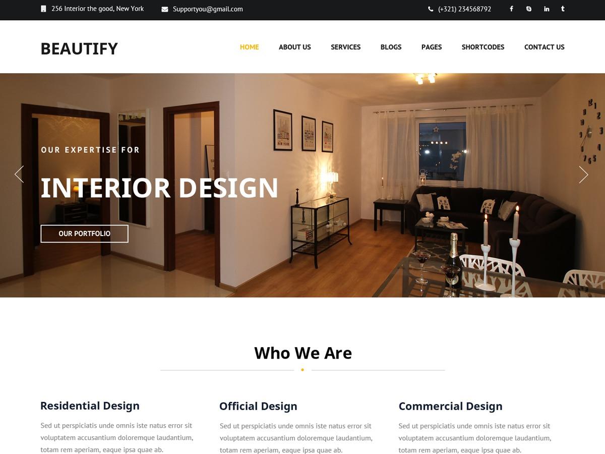 Beautify WordPress gallery theme