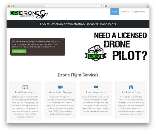 BusiProf Pro WordPress theme - dr1drone.com