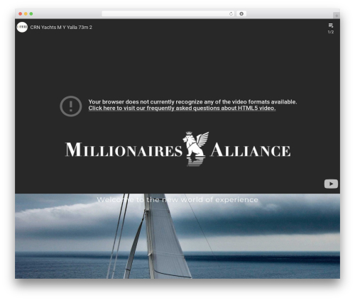jupiter theme WordPress - millionairesalliance.com