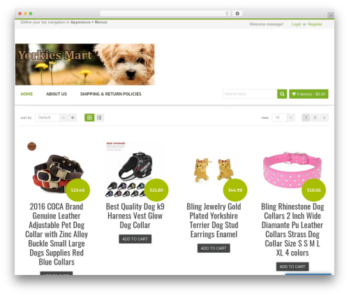 Revolution WordPress theme - yorkiesmart.com