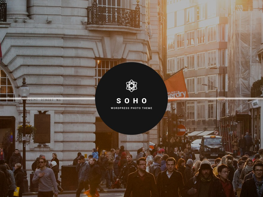 SOHO wallpapers WordPress theme