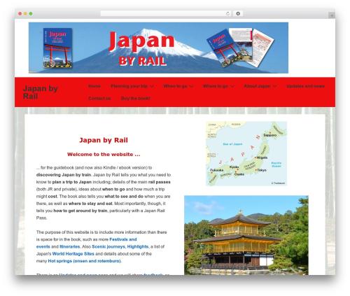 Theme WordPress Responsive - japanbyrail.com