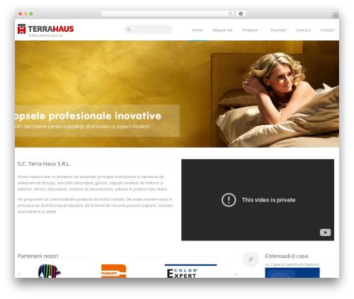 Astrum WordPress theme - terrahaus.ro
