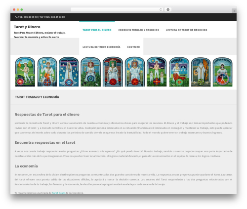 Best WordPress template Formation - tarotydinero.com