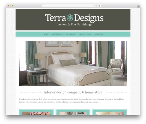 Free WordPress Easy Image Gallery plugin - terradesignsinteriors.com