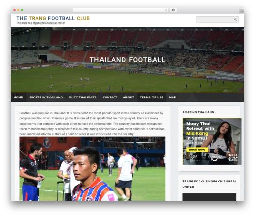 Cude Blog theme WordPress - trang-fc.com