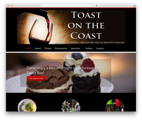 Customizr WordPress theme - toastonthecoast.com