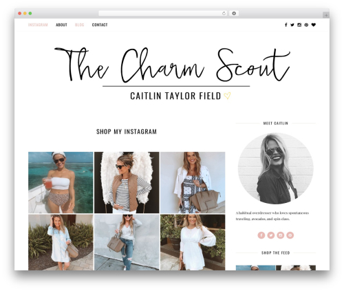Free WordPress AccessPress Instagram Feed plugin - thecharmscout.com