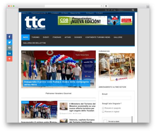 Jarida child premium WordPress theme - traveltradecaribbean.it
