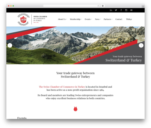 Law business WordPress template for business - tr-ch.org