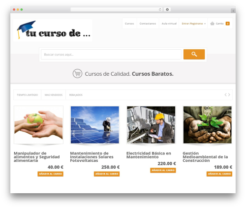 Sistina theme WordPress - tucursode.com