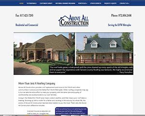 Tarrant County Roofing top WordPress theme