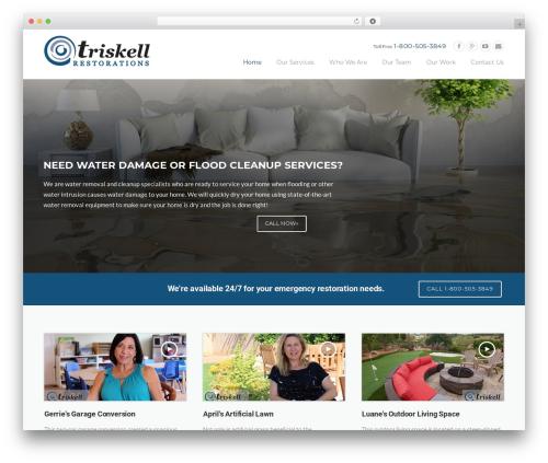 Theme WordPress Construction  (shared on wplocker.com) - triskellconstruction.com