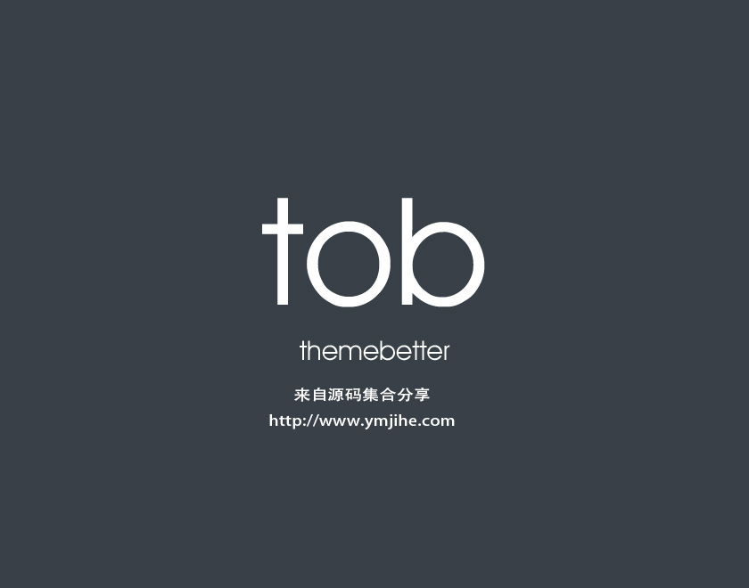 TOB WordPress page template