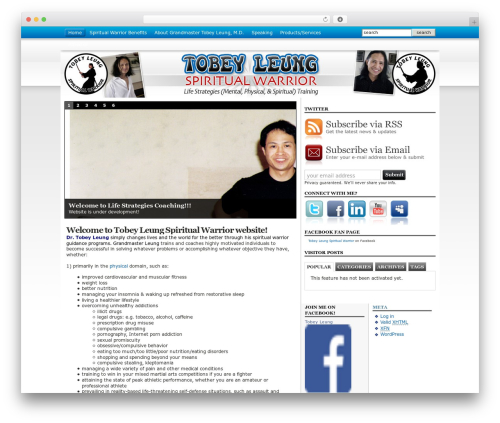 WordPress collision-testimonials plugin - tobeyleung.com