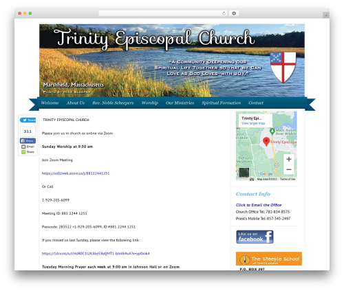 Free WordPress WordPress Local SEO plugin - trinitychurchmarshfield.org