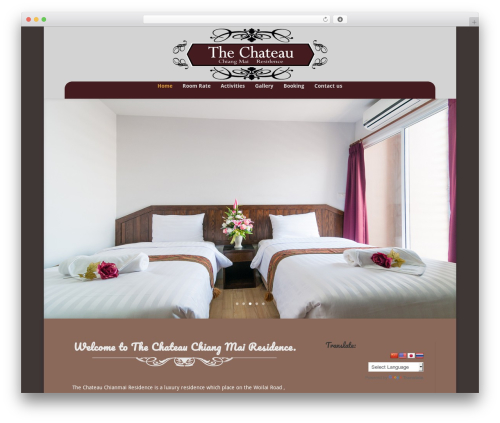 WP template Divi - thechateaucm.com