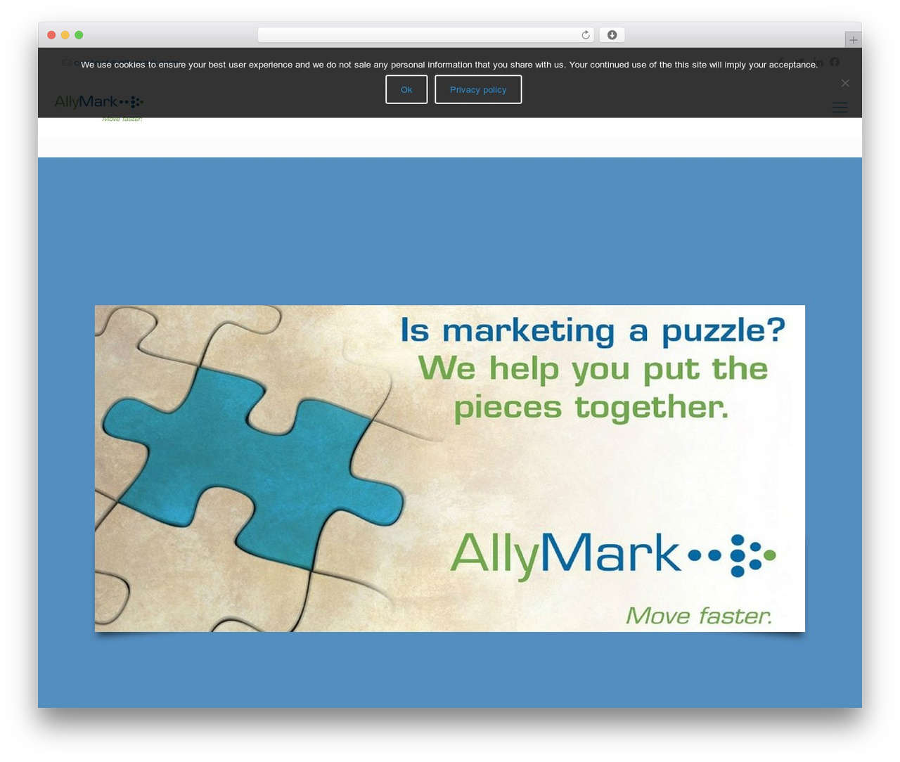 Betheme WordPress theme - allymark.com
