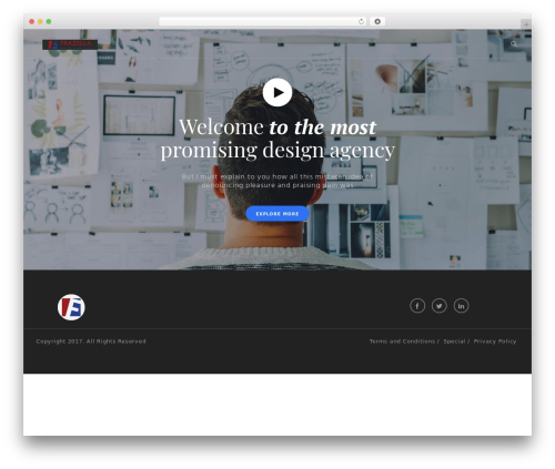 Modular theme WordPress - frazelladesigns.com