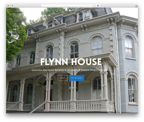 Salient theme WordPress - flynnhouse.com