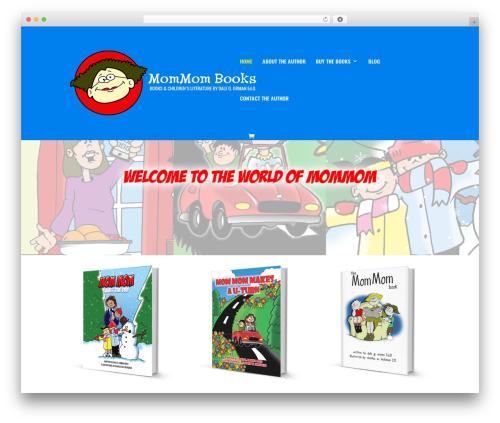 Divi theme WordPress - mommombook.com