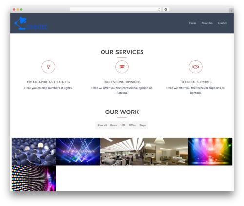 Sydney theme WordPress - comextec.com