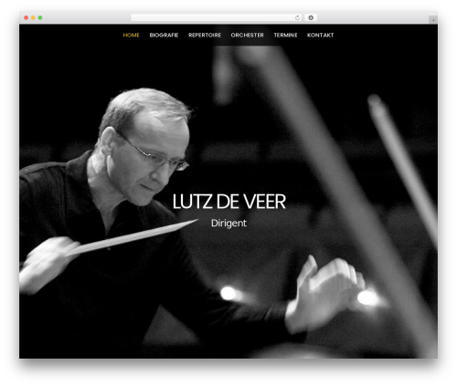 Themify Parallax theme WordPress - lutzdeveer.com