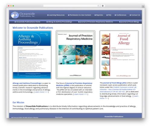WordPress theme Dynamik-Gen - oceansidepubl.com