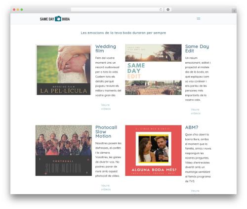Betheme best WordPress template - samedayboda.com