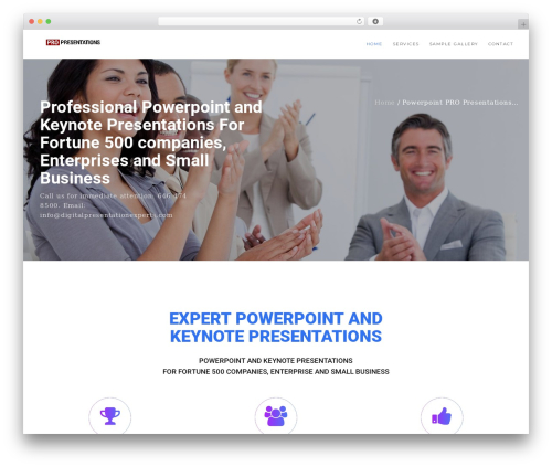 Theme WordPress Modular - digitalpresentationexperts.com