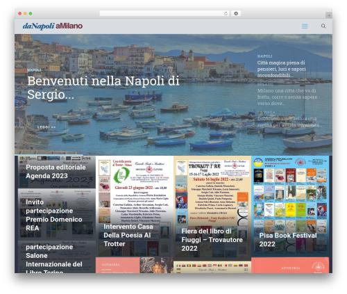 WordPress theme Betheme - danapoliamilano.com
